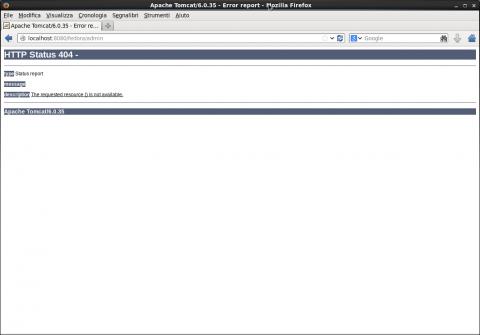 Schermata-Apache Tomcat-6.0.35 - Error report - Mozilla Firefox