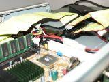 Dettaglio dell'hard disk da 2.5