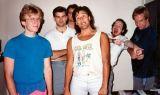 da sinistra John Carmack, kevin Cloud, Adrian Carmack, John Romero, Tom Hall e Jay Wilbur